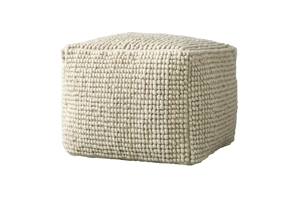 Grand pouf Rioms beige