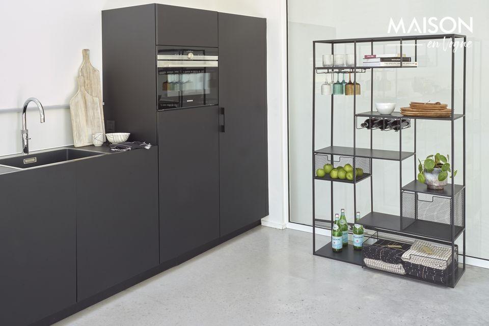 Une étage contemporaine aux notes industrielles pour votre intérieur