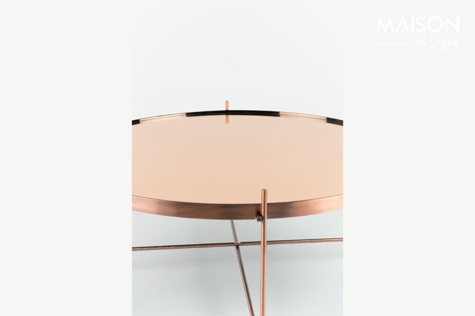 Sur la table d\'appoint Cupid Cuivre en grand format de Zuiver