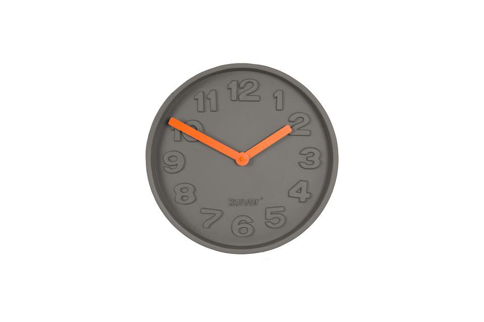 Horloge Concrete Time orange Zuiver