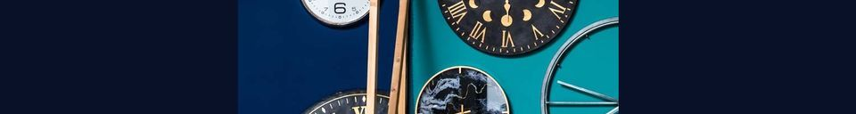 Mise en avant matière Horloge Genève