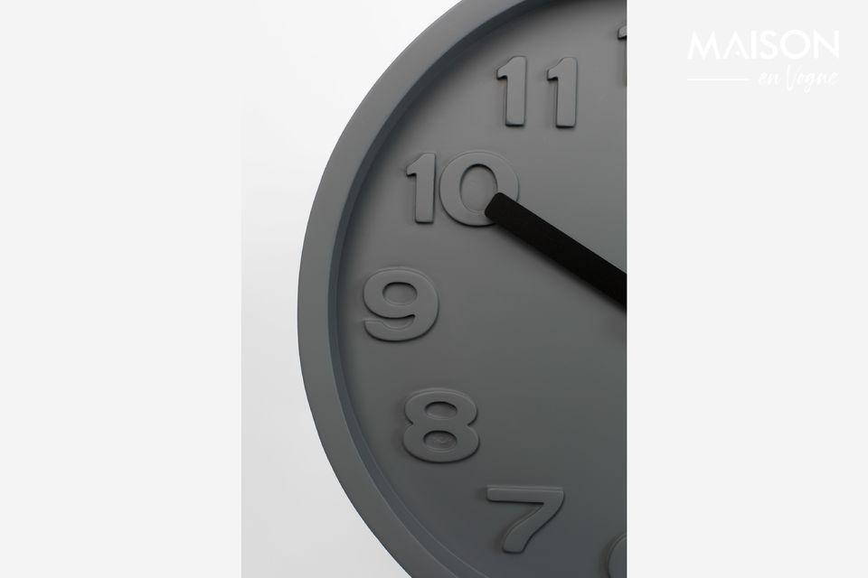 Horloge Humongous grise - 6