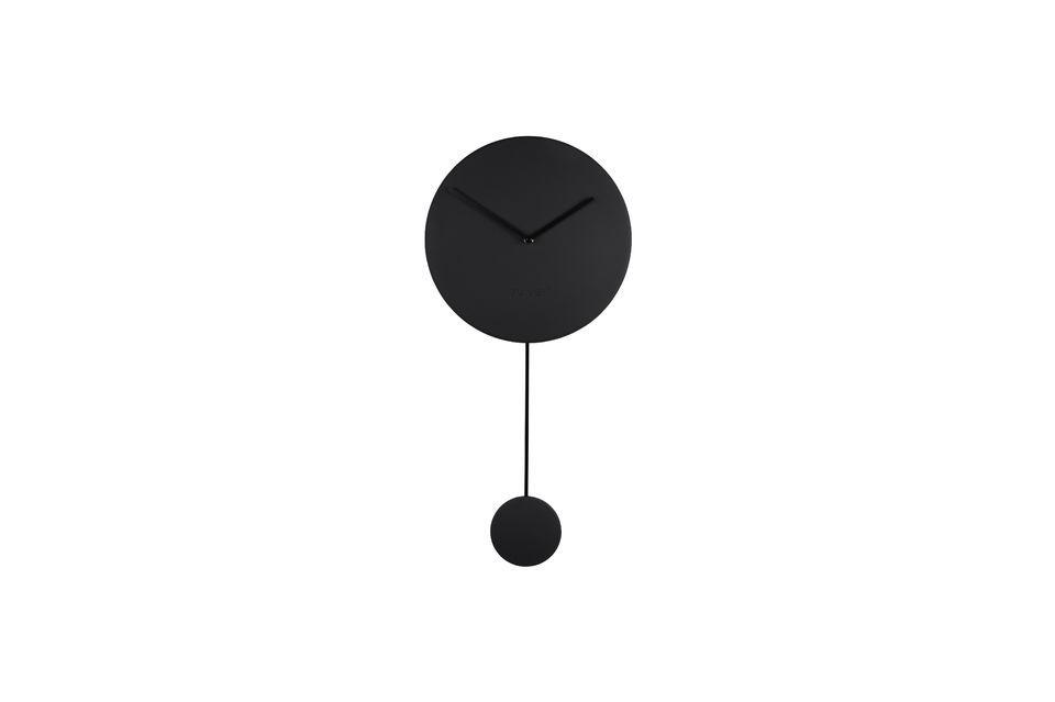 Horloge Minimal noire - 4