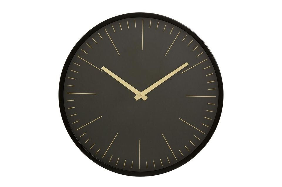 Pour cette horloge murale, la marque Nordal a misé sur le visuel