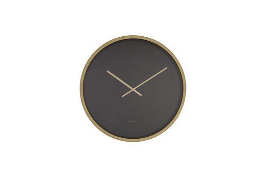 Horloge Time Bandit noire et laiton Détouré
