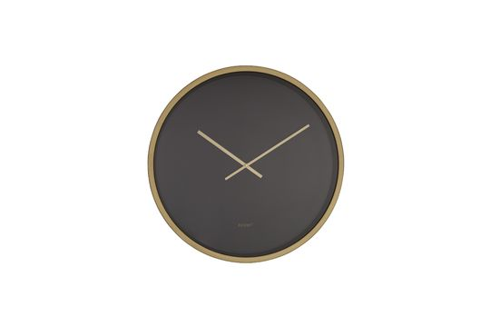 Horloge Time Bandit noire et laiton