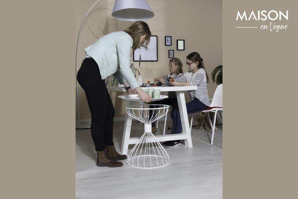 Un lampadaire design pour un intérieur contemporain