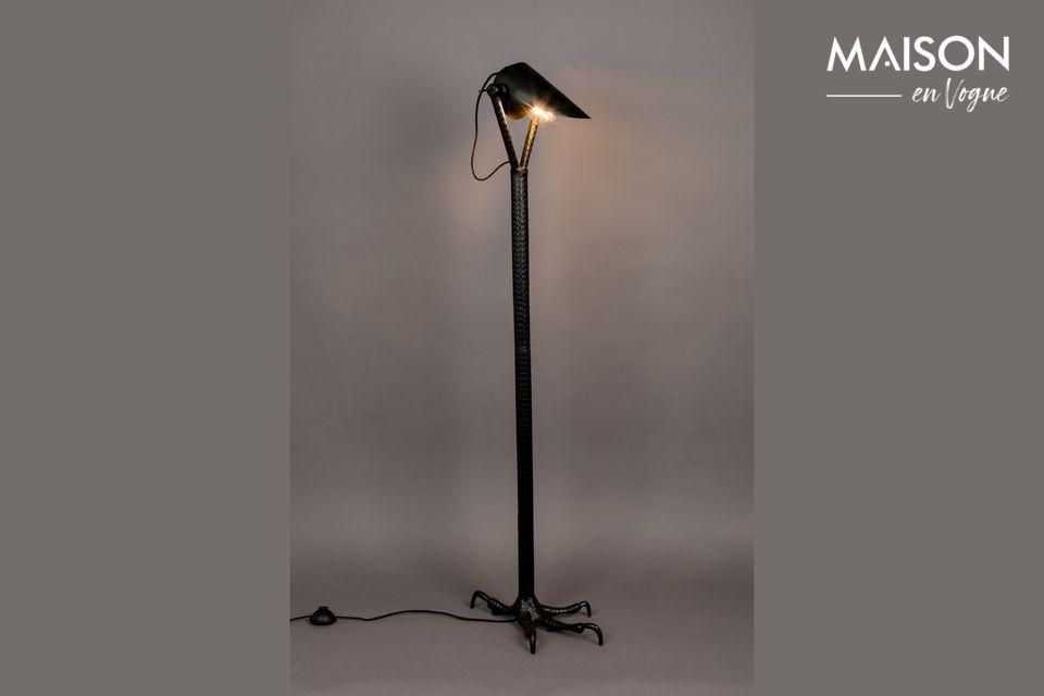 Lampadaire Falcon noir