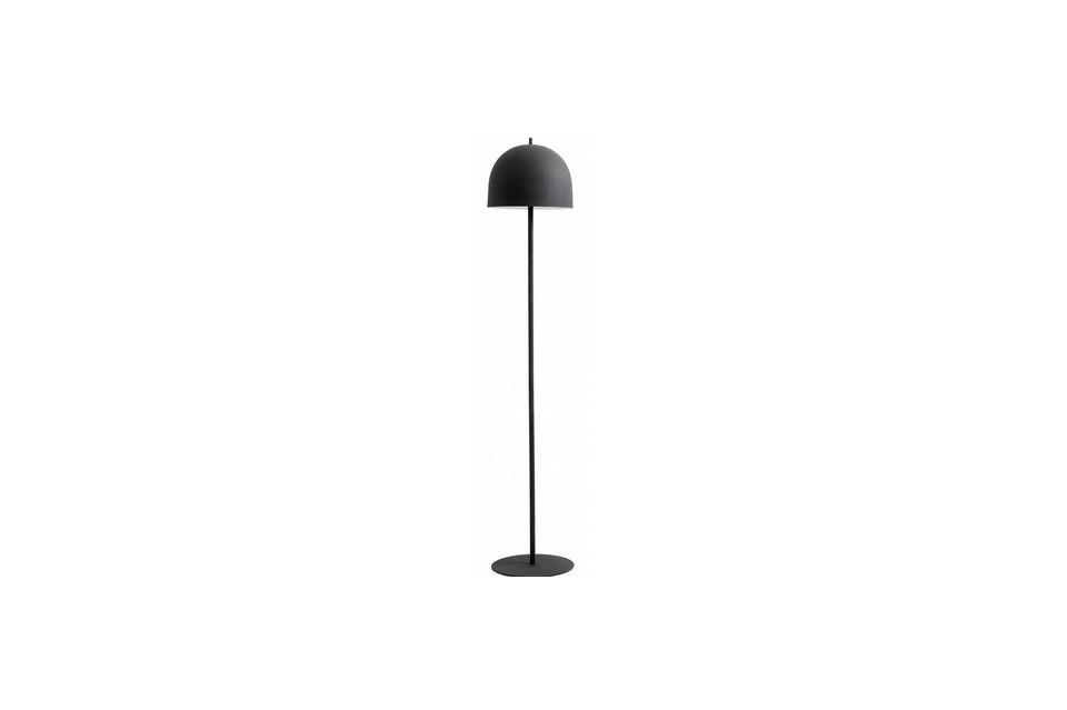Lampadaire Glow 146 cm Noir mat Nordal