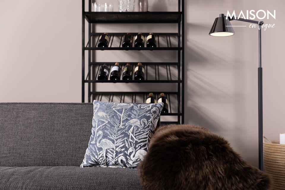Un design simple pour un lampadaire pratique et moderne