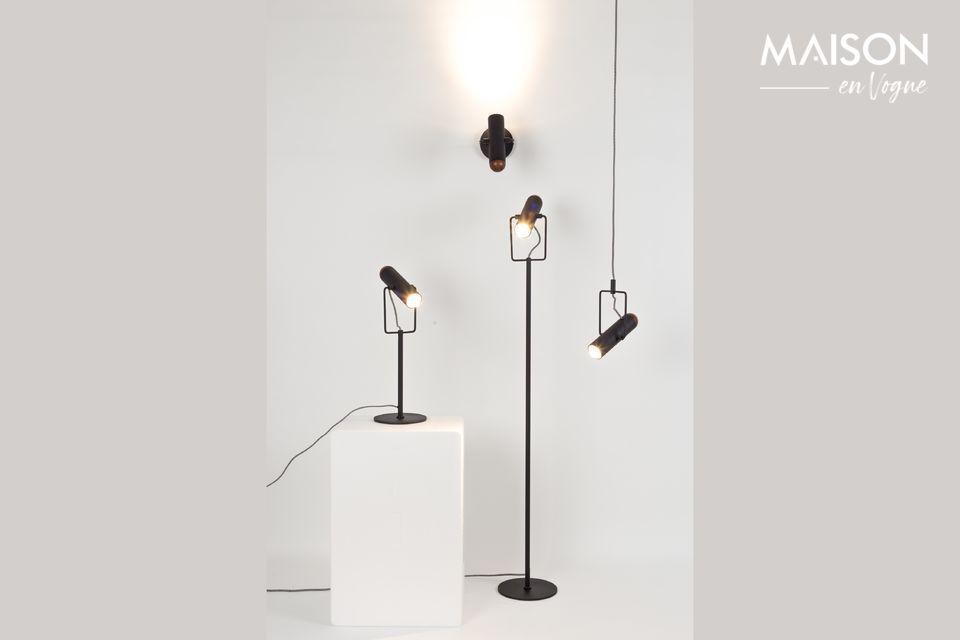 Lampadaire Marlon Noir