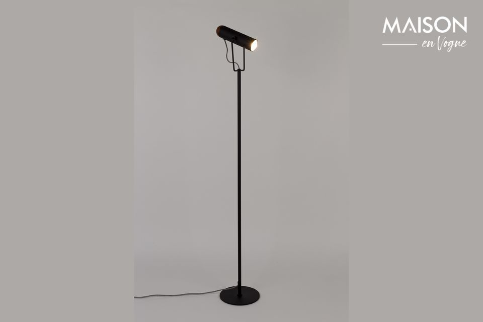 Lampadaire Marlon Noir - 5