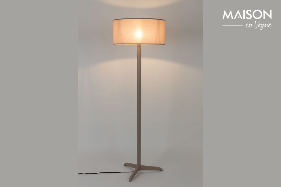 Lampadaire Shelby Taupe