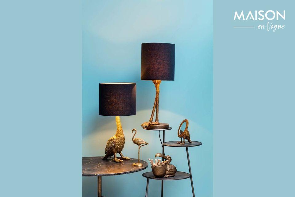 Une lampe originale et sophistiquée