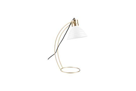Lampe de bureau Curly blanche Détouré