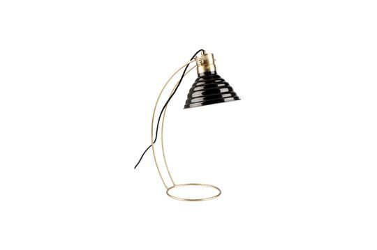 Lampe de bureau Curly noire Détouré