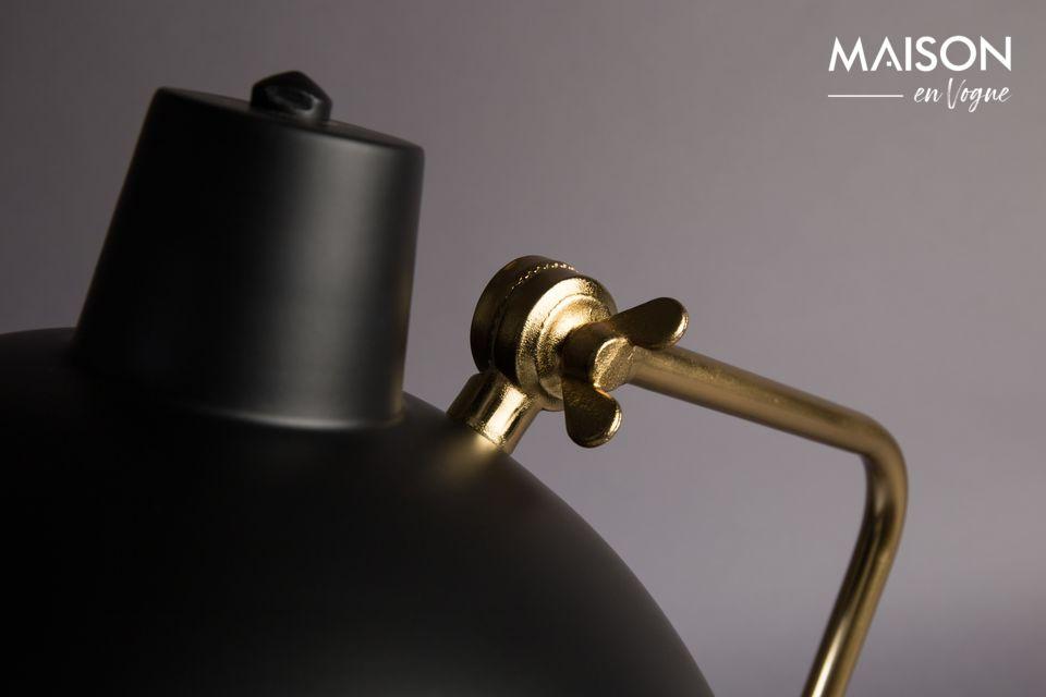 Cette lampe s\'intégrera facilement à tout type de déco et fera un bel effet sur un bureau ou
