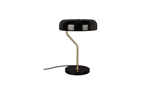 Lampe de bureau Eclipse noire