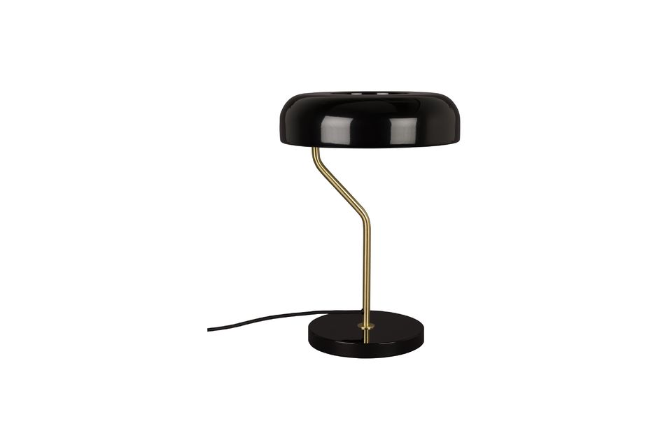 Lampe de bureau Eclipse noire Dutch Bone