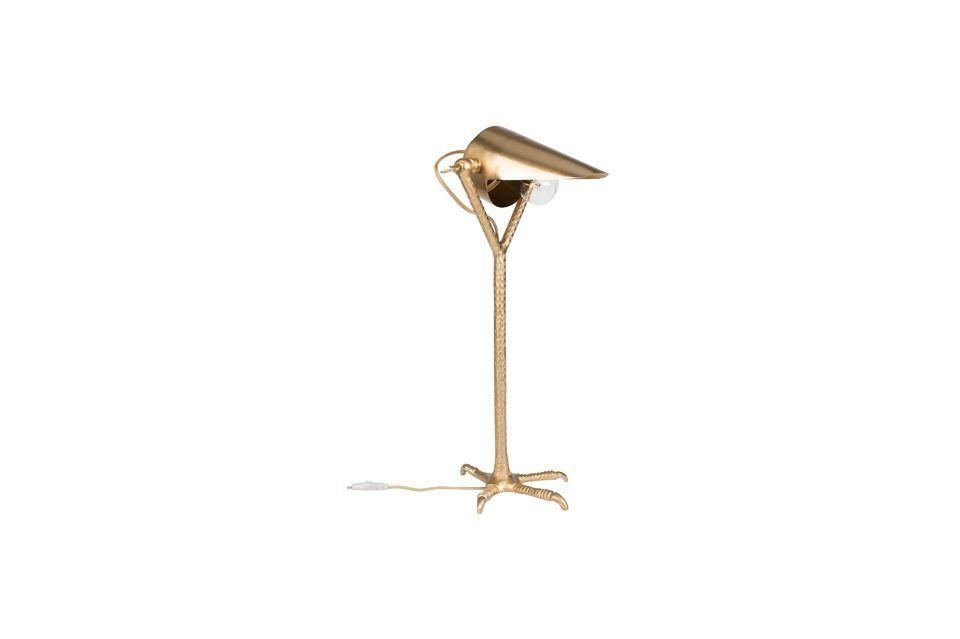 Lampe de bureau Falcon en laiton
