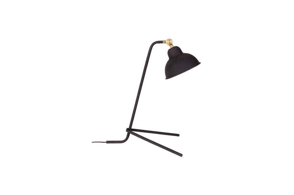 Lampe de bureau Jock noire - 6
