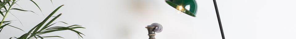 Mise en avant matière Lampe de bureau Jock verte