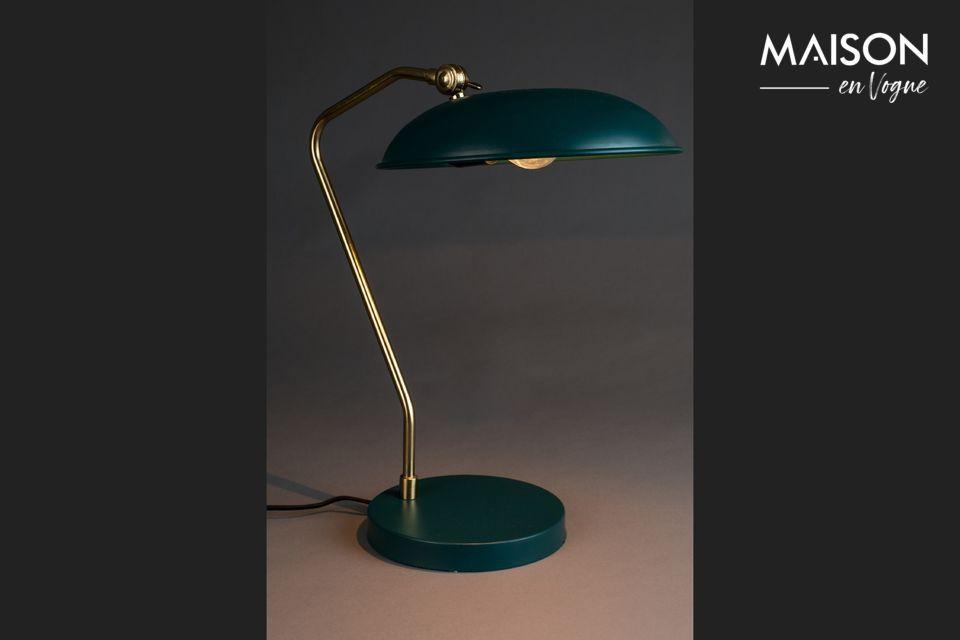 Lampe de bureau Liam bleu canard - 4