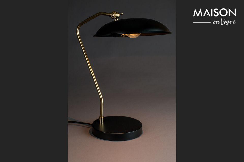 Lampe de bureau Liam Noire - 4