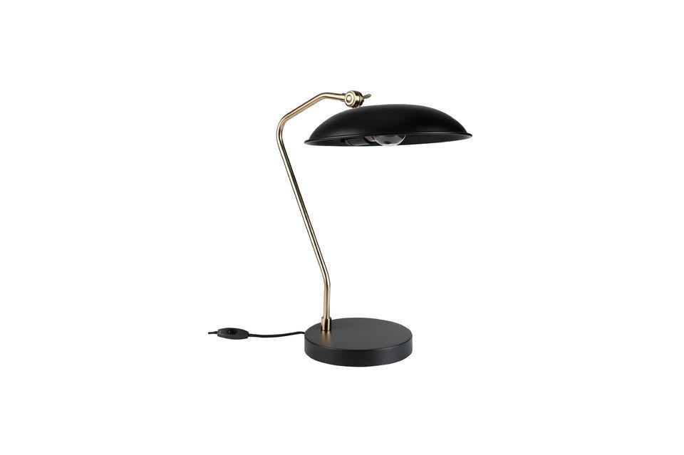 Lampe de bureau Liam Noire Dutch Bone