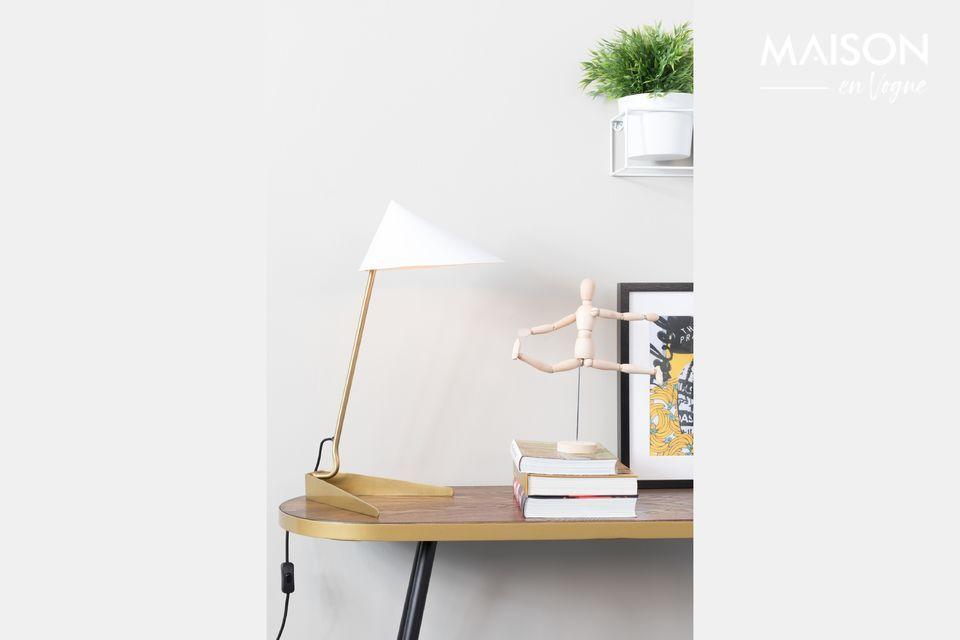 Lampe de bureau Lizzy blanche