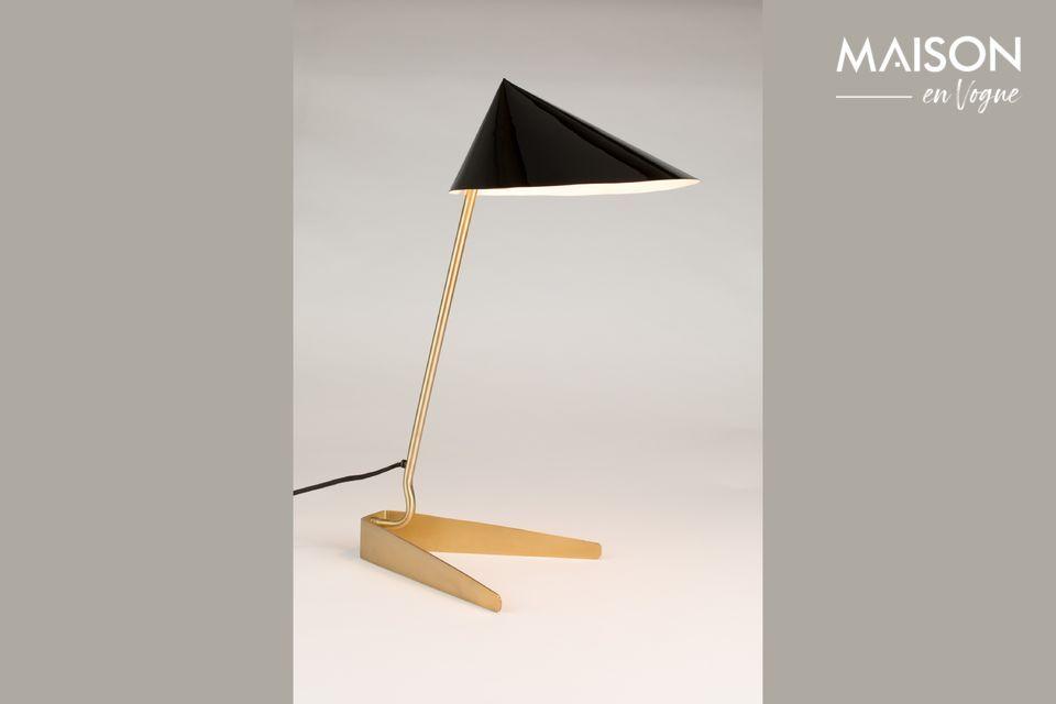 Une lampe élégante au design contemporain