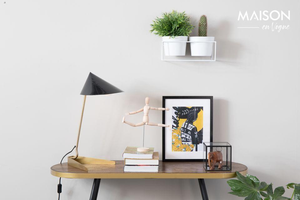 Lampe de bureau Lizzy noire - 5