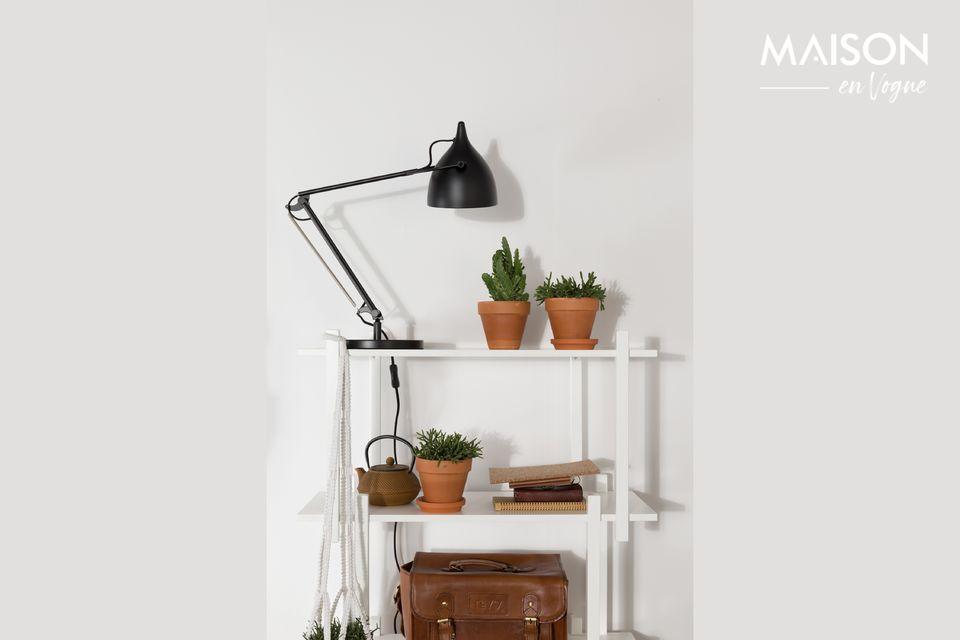 Lampe de bureau Reader Noir Mat Zuiver