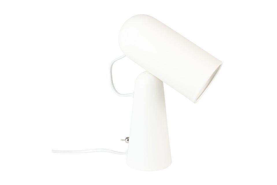 Lampe de bureau Vesper blanche - 5
