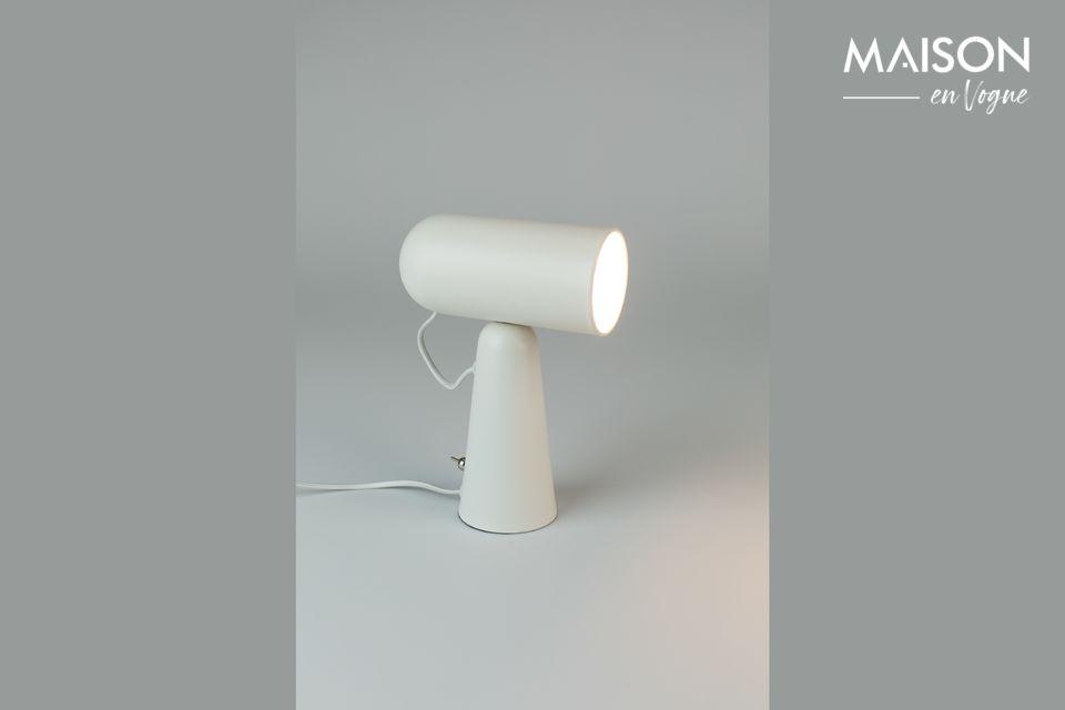 Lampe de bureau Vesper blanche White Label