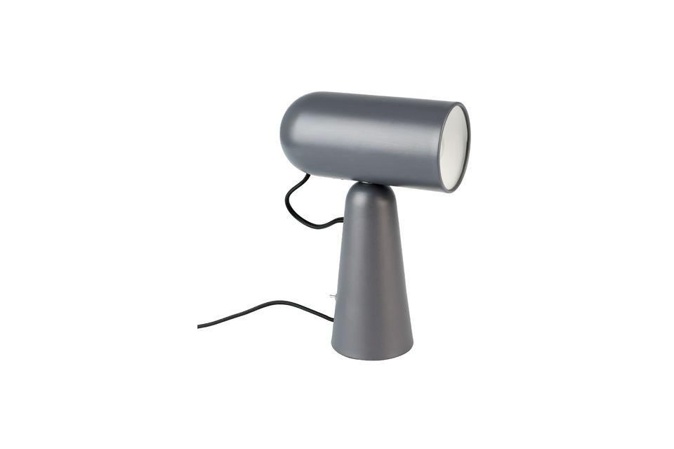 Lampe de bureau Vesper coloris gris foncé - 5
