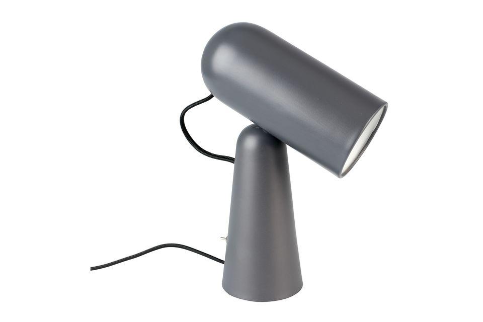 Lampe de bureau Vesper coloris gris foncé - 6