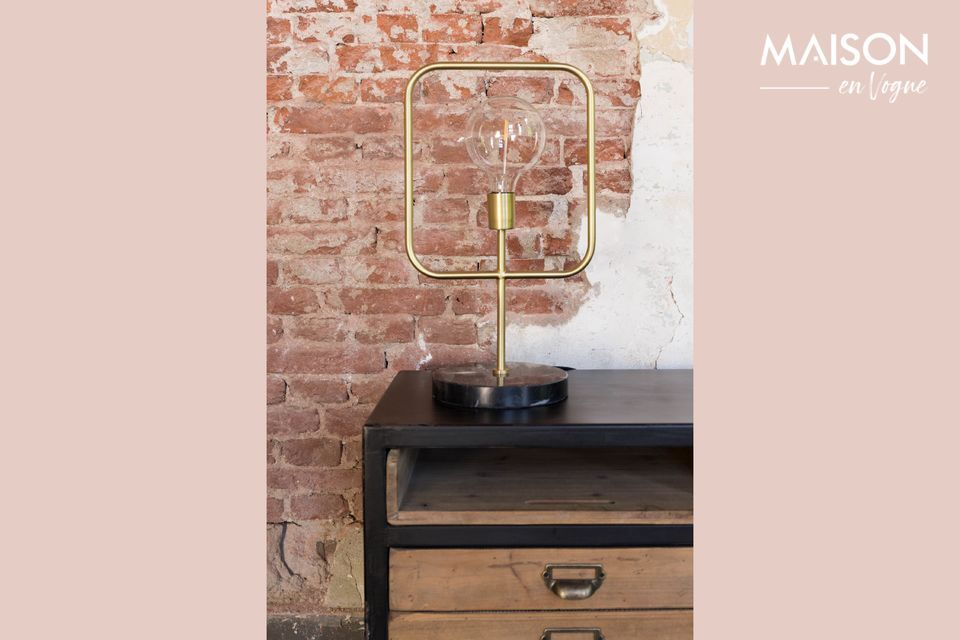 Une lampe raffinée au design moderne