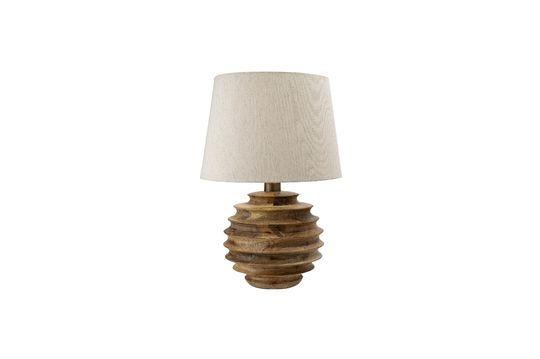 Lampe de table Magny en bois de manguier Détouré