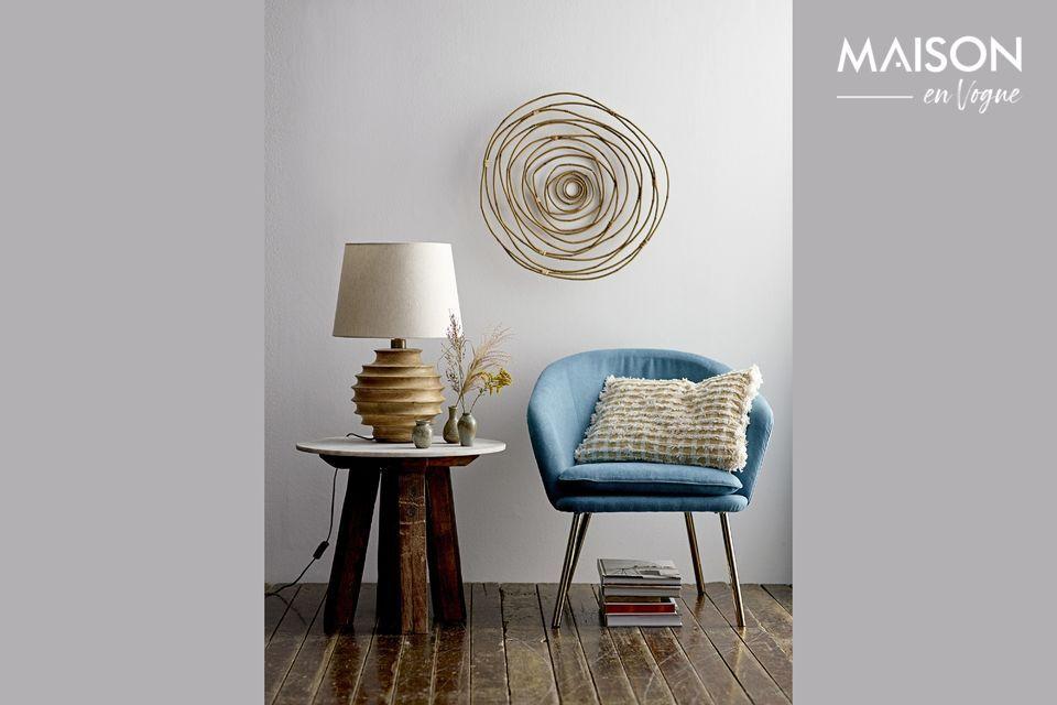 Lampe de table Magny en bois de manguier Bloomingville