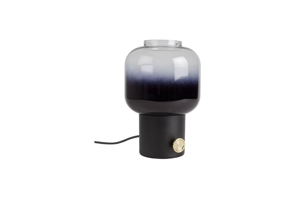 Lampe de table Moody noire Zuiver