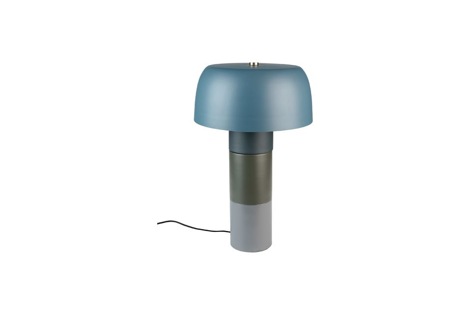 Lampe de table Muras Tricolore bleue - 6