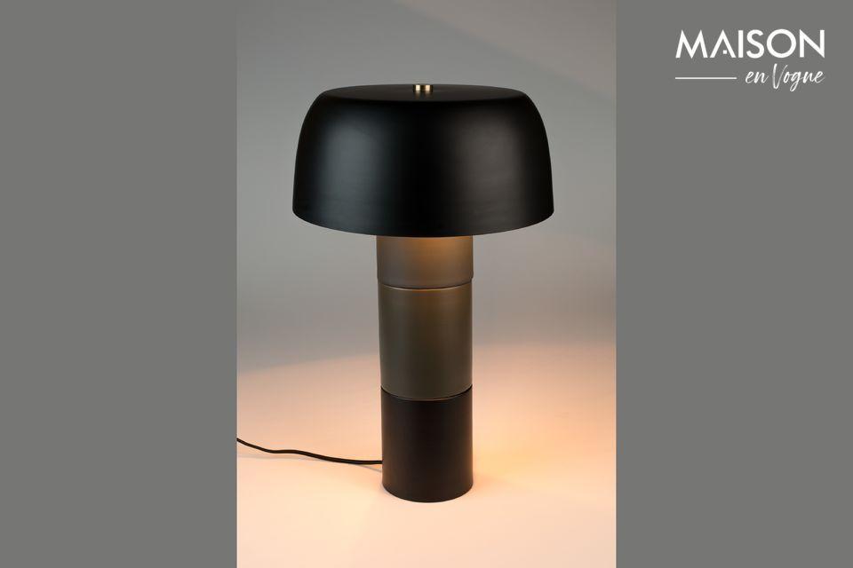 Lampe de table Muras Tricolore Noir