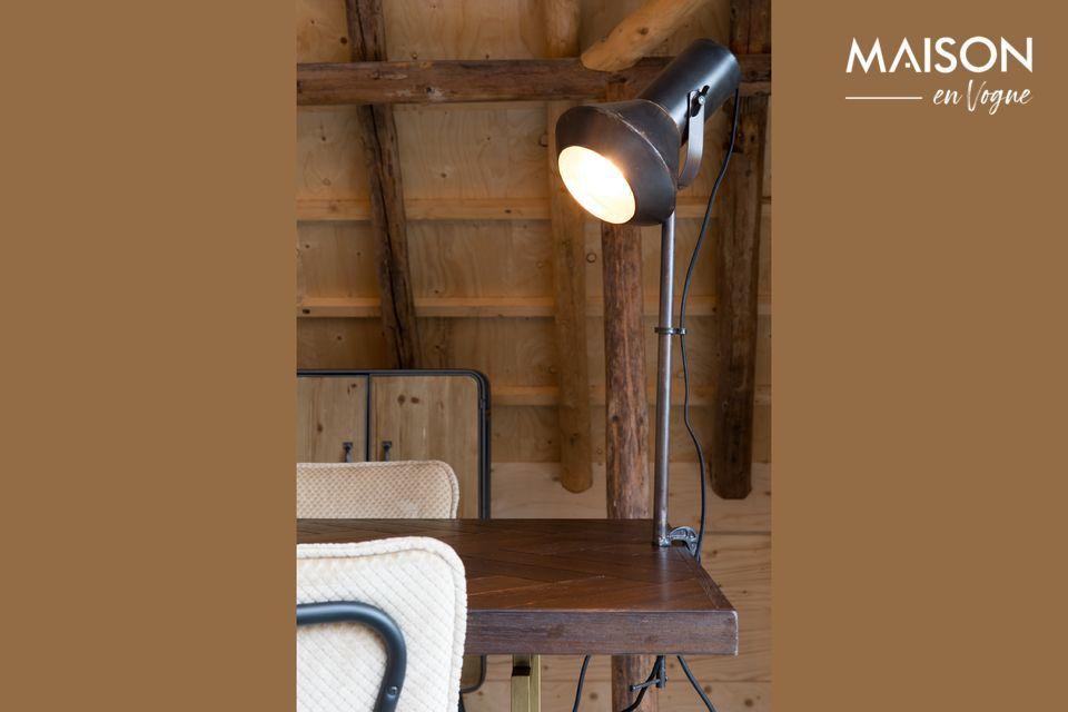 Lampe de table noire Vox Dutch Bone
