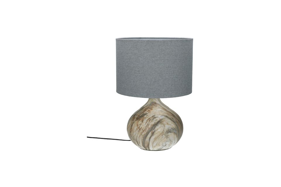 Lampe de table Snooz en céramique Pomax
