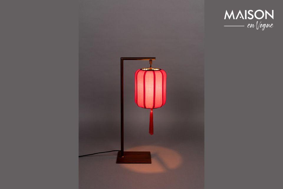 Lampe de table Suoni Rouge - 6