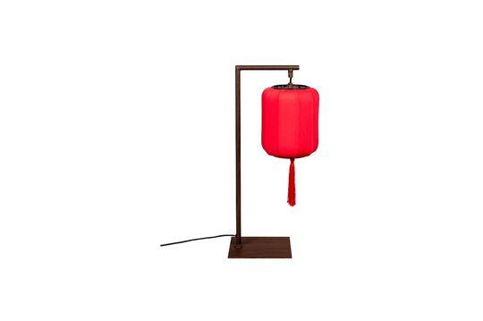 Lampe de table Suoni Rouge Détouré