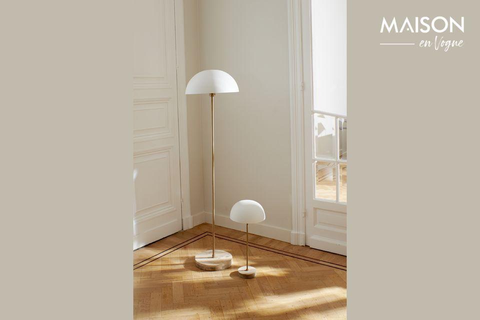 Lampe de table Suzette en métal Pomax