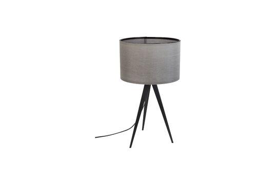 Lampe de table Tripod noir et gris