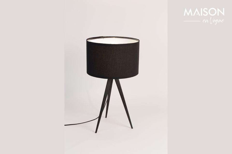 Lampe de table Tripod Noire - 4